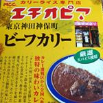 MCCの東京神田神保町エチオピアビーフカリーを食べた感想 キレのある辛さ