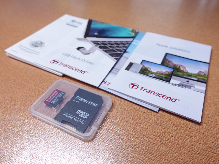 Transcend microSDXCカード 128GB