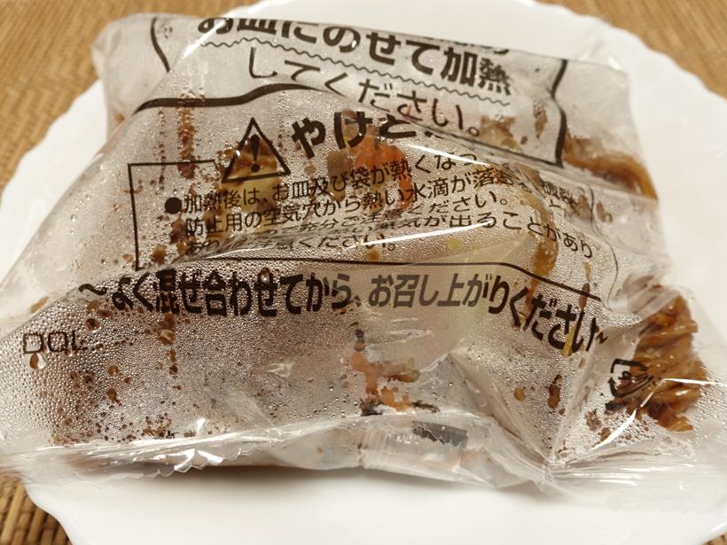 ファミマのお母さん食堂香ばしソース焼きそばの解凍後