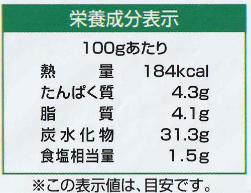 大阪王将の辛くて旨い炒飯のカロリー表示