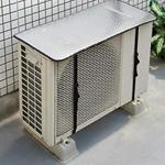エアコンの室外機カバーを交換、カバーをするとしないのとでは電気代が違う