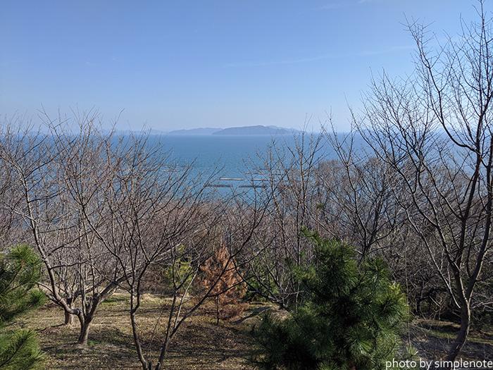 三郎島の展望台から見る風景