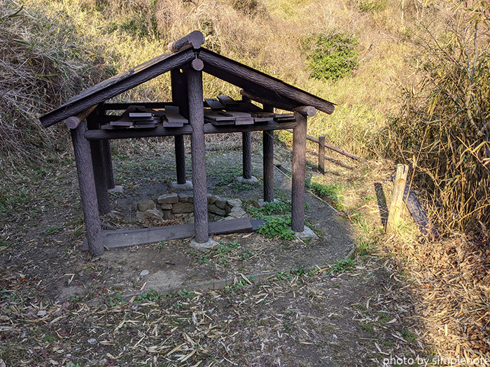 三郎島の苔陰の井戸