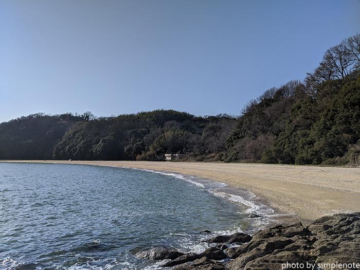 三郎島の三郎自然海岸