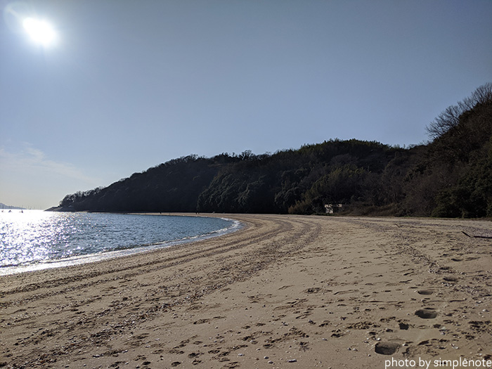 三郎島の自然海岸